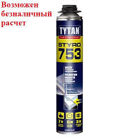 Пена Tytan O2 STYRO 753 GUN B3 750 мл (клей для пенопласта)