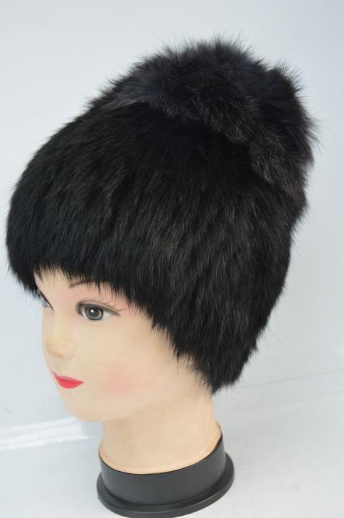 Стильная женская меховая шапка оптом и в розницу