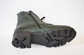 Осенние зеленые ботинки Molly Bessa, фото 3