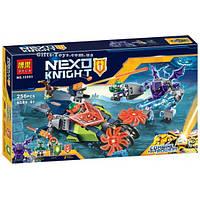 Конструктор Nexo Knights Bela 10593 Слайсер Аарона 256 деталей.