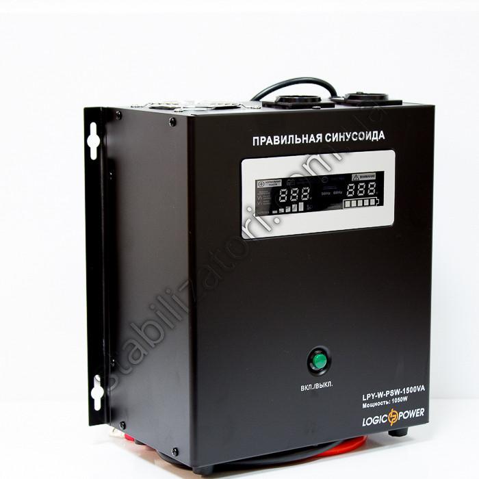 LogicPower LPY-W-PSW-1500VA + ДБЖ - безперебійник - УПС -UPS - з правильною синусоїда
