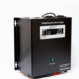 LogicPower LPY-W-PSW-1500VA + ДБЖ - безперебійник - УПС -UPS - з правильною синусоїда, фото 2