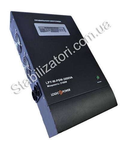 LogicPower LPY-W-PSW-3000VA + ИБП - бесперебойник - УПС -UPS - с правильной синусоидой, фото 2