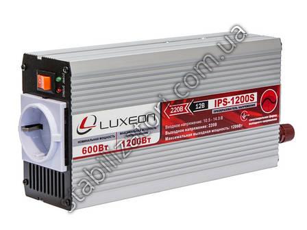 Luxeon IPS-1200S инвертор - перобразователь с правильной синусоидой, фото 2