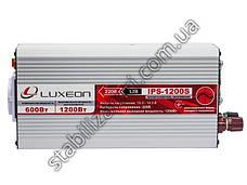 Luxeon IPS-1200S инвертор - перобразователь с правильной синусоидой, фото 3