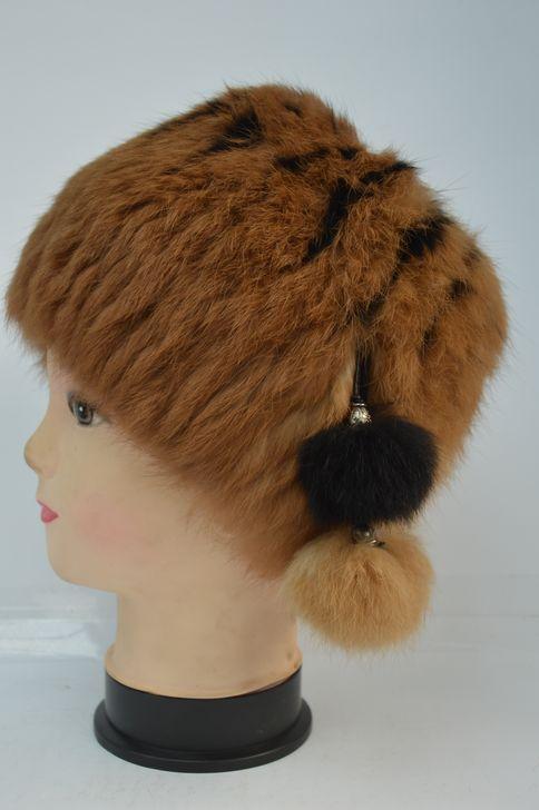 Мягкая меховая шапка оптом и в розницу