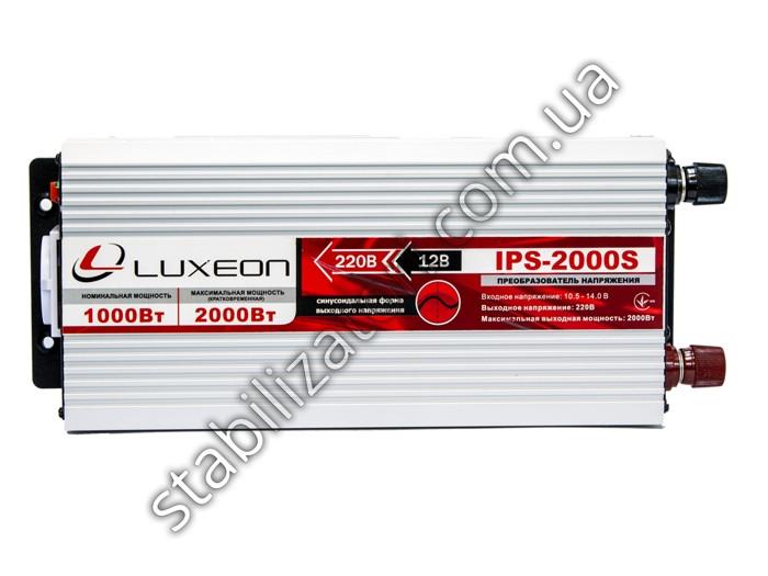 Luxeon IPS-2000S - инвертор напряжения, преобразователь, синусоида