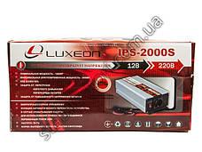 Luxeon IPS-2000S - инвертор напряжения, преобразователь, синусоида, фото 2
