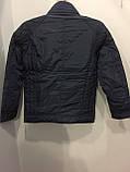 Демисезонная куртка для мальчика подростка 134,140 см, фото 4