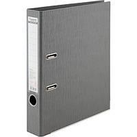 Папка-регистратор Axent Prestige+ A4 с двусторонним покрытием, 7,5 см, серебристая