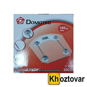 Весы напольные Domotec MS 2003B