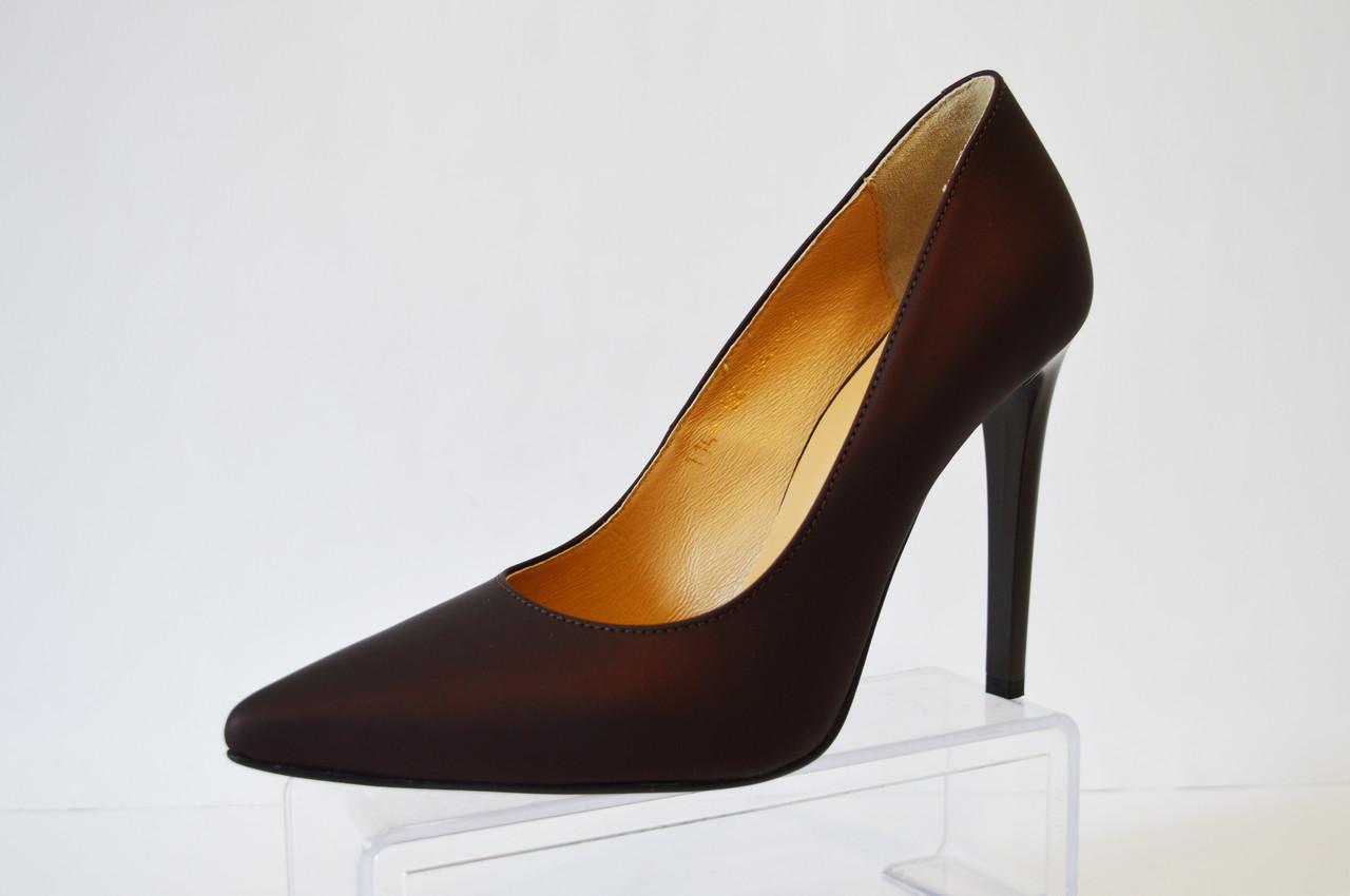 Туфли женские цвета марсала Vanilla