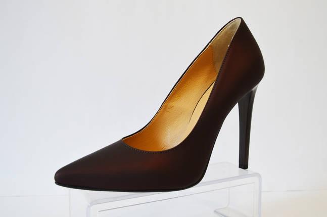 Туфли женские цвета марсала Vanilla, фото 2