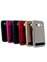 Бампер алюминиевый для Samsung Galaxy E7 E700 - Motomo Guard Series, разные цвета