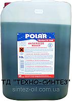 Антифриз зеленый концентрат POLAR -72°C Standard BS 6580 G11 (10л)