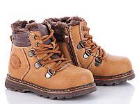 Детская зимняя обувь оптом.Ботинки для мальчиков от фирмы-Clibee  разм (с 21-по 26)
