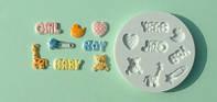 Gaia Силиконовый молд аксессуары для маленьких детей