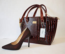 Туфли женские цвета марсала Vanilla, фото 3