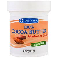 De La Cruz, 100% кокосовое масло, 2 унции (56,7 г)