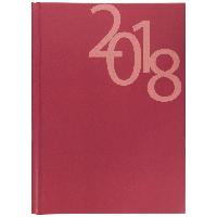 Щоденник датований 2018 OFFICE, A5, 336 стр. червоний