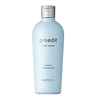 Lebel Proedit Through Fit Shampoo - питательный шампунь для жестких и непослушных волос, 300 мл