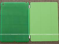 Чехол для Apple iPad 9.7 2017 Smart Cover + Plastic Back Green