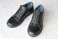 Туфли кожаные чёрные MILLIONER