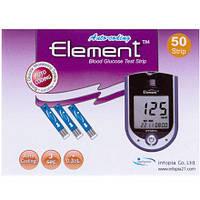 Тест-полоски Element Multi на определение глюкозы №50