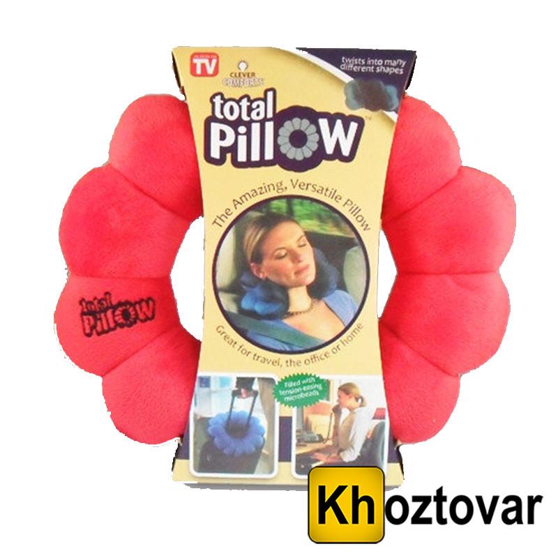 Подушка трансформер розслаблююча Total Pillow