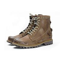 Ботинки Timberland Rugged High Grey (с мехом) мужские тимберленд