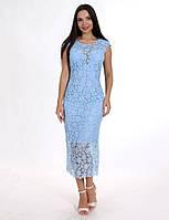 Платье Авелин голубое  Enigma