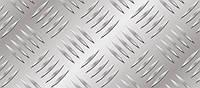 Рифленый алюминиевый лист. (Квинтет)