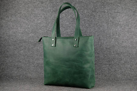 Шоппер большой |11336| Зеленый