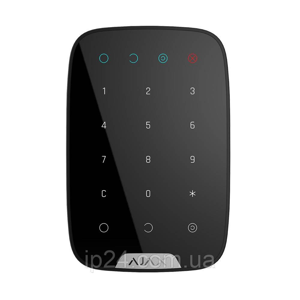 Ajax KeyPad беспроводная сенсорная клавиатура  Black /  White