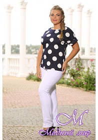 Женская нарядная блуза большого размера (р. 48-90) арт. Нимфа