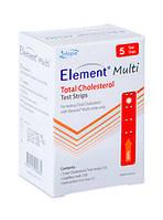 Тест-полоски Element Multi на общий холестерин №5