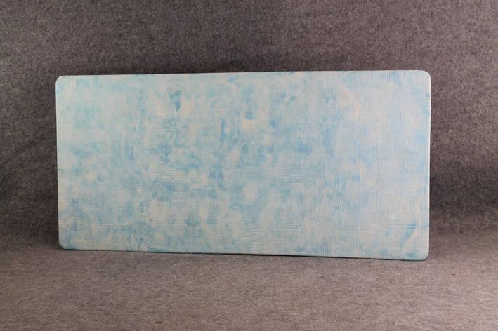 """Керамогранітний обігрівач """"Холст"""" аквамариновий 600 Вт 264GK6HO612, фото 2"""