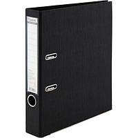 Папка-регистратор Axent Prestige+ A4 с двусторонним покрытием, 5 см, черная