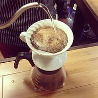 Пуровер Hario V60 02 White (600 мл) для заваривания фильтр-кофе