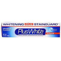 Plus White, PlusWhite, Зубная паста, отбеливание + защита от налета, охлаждающий и освежающий вкус мяты, 3.5 унции(100 г)