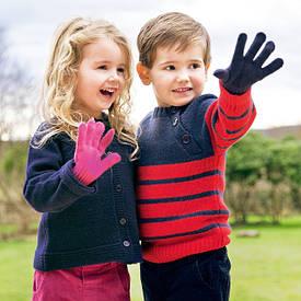 Оптом детские и подростковые вязаные перчатки и варежки (только оптом)