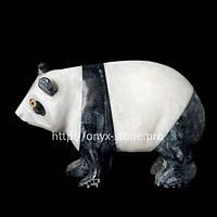 Панда из оникса