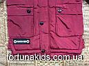 Куртки зимние на меху для мальчиков GRACE 4-12 лет, фото 4