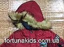 Куртки зимние на меху для мальчиков GRACE 4-12 лет, фото 6