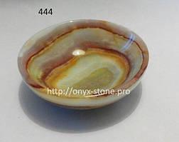 Пиала из  натурального камня оникса