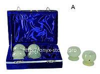 Бокалы для коньяка из камня оникс набор 6 шт