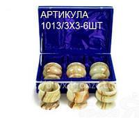 Бокалы для коньяка средние оникс комплект 6 шт