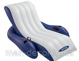 Надувное кресло - шезлонг Intex 58868