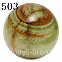 Шкатулка-шар оникс необычная