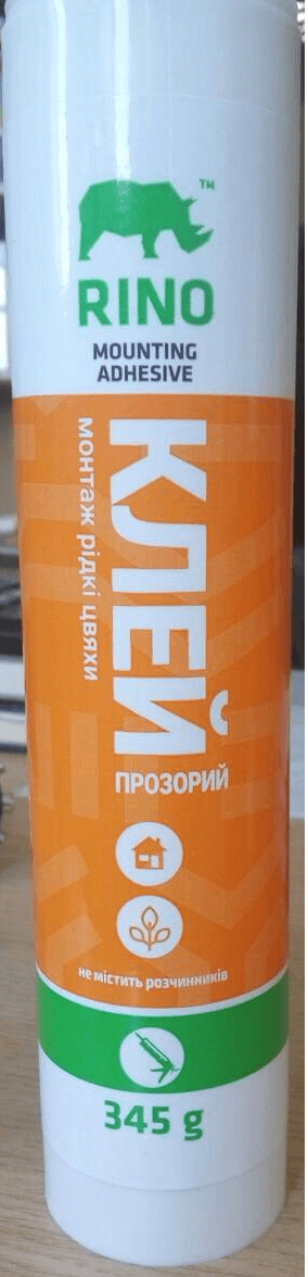 """Клей """"Жидкие Гвозди"""" Rino прозрачный, 80 грамм"""